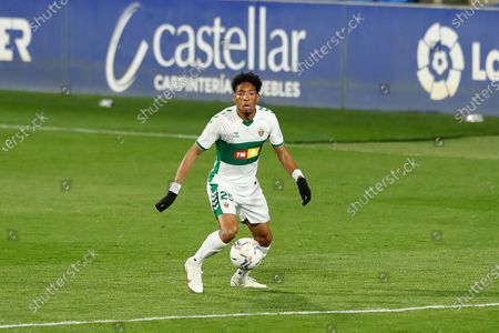 Editorial photo of Soccer : 2020-2021 La Liga Santander : SD Huesca 3-1 Elche CF, Huesca, Spain - 09 Apr 2021