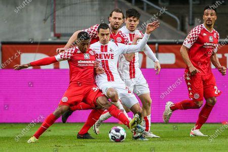 Editorial picture of Germany Cologne Football Bundesliga Koeln vs Mainz - 11 Apr 2021