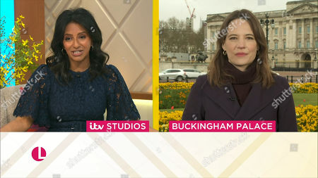 Editorial picture of 'Lorraine' TV Show, London, UK - 12 Apr 2021