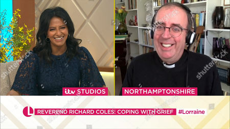 Stock Picture of Ranvir Singh and Reverend Richard Coles