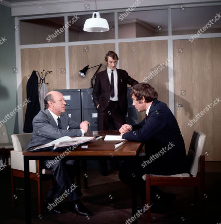 Inspector Large, as played by Ivor Dean, Sergeant Hinds, as played by Richard Kerley, and Jeff Randall, as played by Mike Pratt