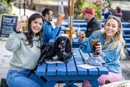 Editorial picture of Shops and pubs open for the first time in months, London, UK - 12 Apr 2021