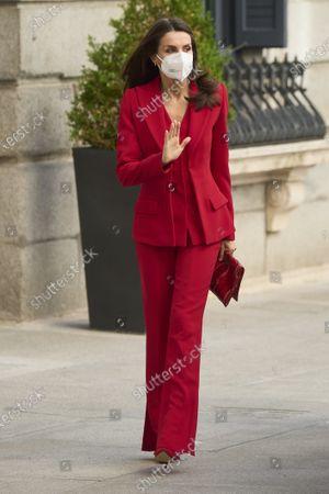 Queen Letizia pays tribute to late MP Clara Campoamor, Madrid