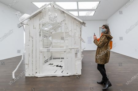 Poltergeist, 2020 - Gagosian presents Internal Objects, an exhibition of new work by Rachel Whiteread at their Grosvenor Hill gallery. The exhibition opening is possible as the next stage of easing of coronavirus restrictions comes in to force, allowing non-essential retail to re-open.