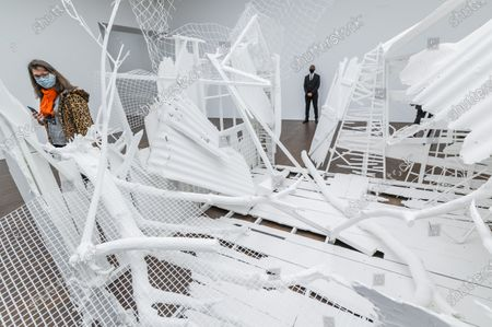 Doppelgänger, 2020-2021 - Gagosian presents Internal Objects, an exhibition of new work by Rachel Whiteread at their Grosvenor Hill gallery. The exhibition opening is possible as the next stage of easing of coronavirus restrictions comes in to force, allowing non-essential retail to re-open.