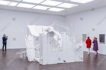 Editorial picture of Gagosian presents Internal Objects, an exhibition of new work by Rachel Whiteread., Mayfair, London, UK - 12 Apr 2021
