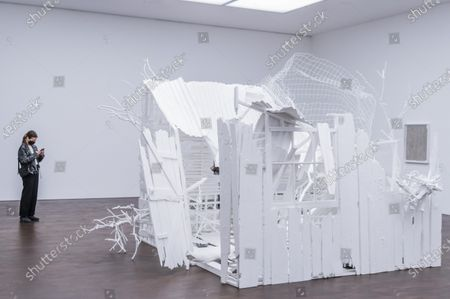Editorial image of Gagosian presents Internal Objects, an exhibition of new work by Rachel Whiteread., Mayfair, London, UK - 12 Apr 2021