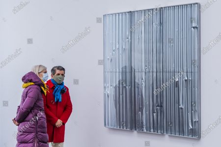 Editorial photo of Gagosian presents Internal Objects, an exhibition of new work by Rachel Whiteread., Mayfair, London, UK - 12 Apr 2021