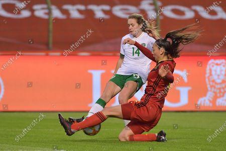Editorial picture of Belgium v Ireland, Friendly, Football, Brussels, Belgium - 11 Apr 2021