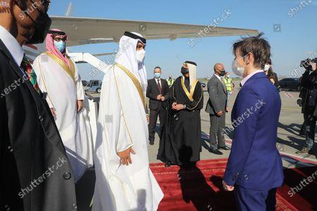 Editorial photo of Serbia Bahrain Diplomacy, Belgrade, Serbia - 05 Apr 2021