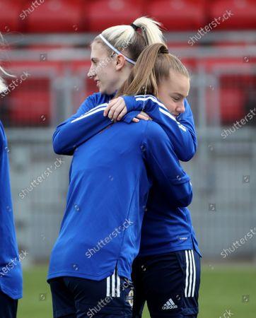 Kelsie Burrows and Emily Wilson