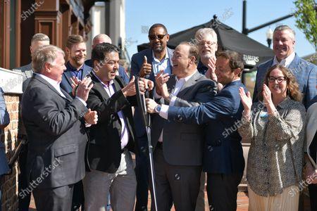 Editorial photo of Taffer's Tavern Celebrates Ribbon Cutting Ceremony, Alpharetta, Georgia, USA - 12 Apr 2021