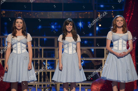 Danielle Hope, Lauren Samuels and Sophie Evans.