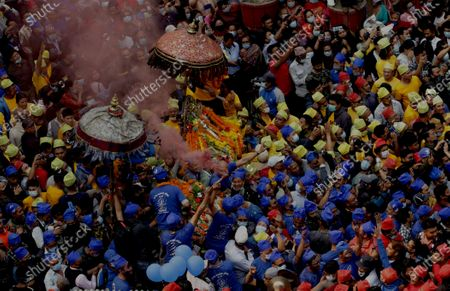 Editorial photo of Nepal Kathmandu Festival - 12 Apr 2021