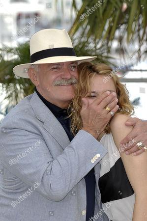 Nikita Mikhalkov and daughter Nadezhda Mikhalkov