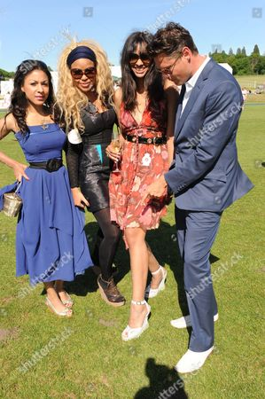 Stock Image of Kathryn Drysdale, Sarah Jane Crawford, Joy Vieli and Percy Parker