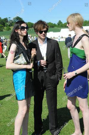 Sophie Ellis-Bextor, Richard Jones and Jade Parfitt