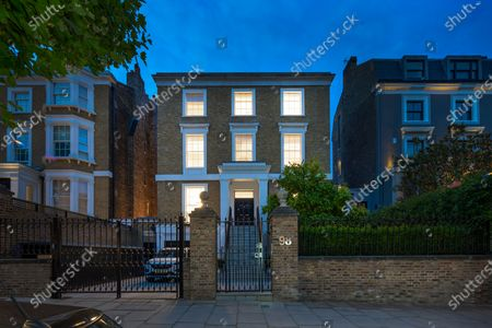 Editorial photo of A luxurious home that has gone on the market for a whopping £19m, St Johns Wood, London, UK - 12 Apr 2021