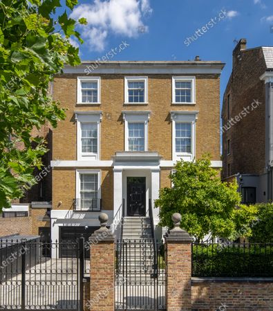 A luxurious home that has gone on the market for a whopping £19m will appeal to wealthy sports fanatics.  The Victorian property in London's St Johns Wood comes with a swimming pool, gym and spa and a mini football pitch in the garden.  The designer house is on a sought-after road that has been home to Bond actor Honor Blackman and author Thomas Hardy.