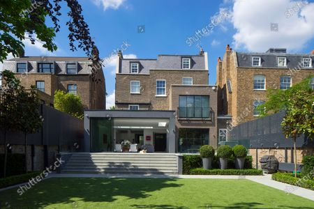Editorial image of A luxurious home that has gone on the market for a whopping £19m, St Johns Wood, London, UK - 12 Apr 2021
