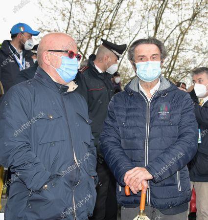 Editorial photo of Rowing European 2021, Varese, Italy - 11 Apr 2021