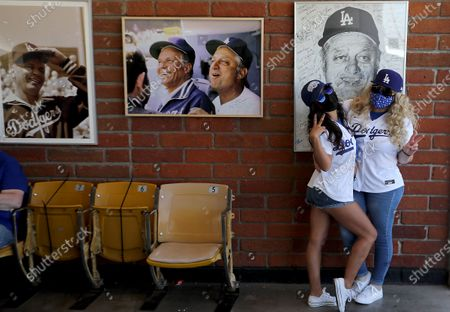 Editorial picture of Dodgers home opener, Los Angeles, California, United States - 23 Mar 2021