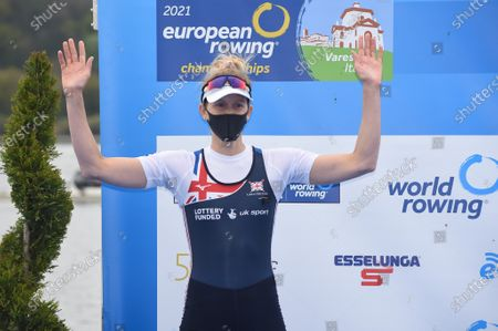 Editorial picture of European Rowing Championships, Varese, Italy - 11 Apr 2021