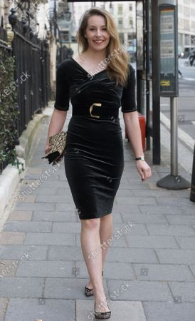Editorial image of Celebrities at Annabels, Mayfair, London, UK - 12 Apr 2021