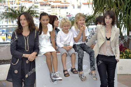 Julie Bertuccelli, Zoe Poe, Gabriel Gotting, Morgana Davies, Charlotte Gainsbourg