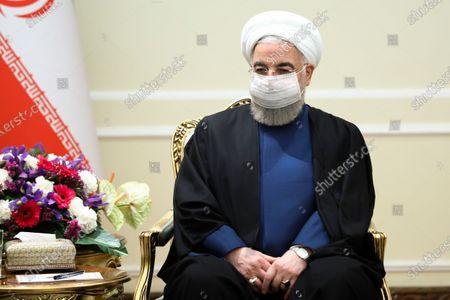 Editorial photo of Russia, Tehran, Iran - 13 Apr 2021