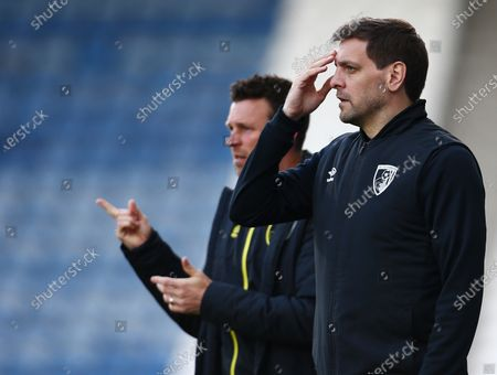 Bournemouth manager Jonathan Woodgate looks thoughtful