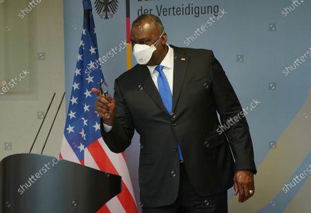 Editorial image of US Defense Secretary Austin Visits Germany During International Tour, Berlin - 13 Apr 2021