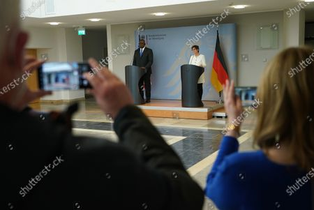 Editorial picture of US Defense Secretary Austin Visits Germany During International Tour, Berlin - 13 Apr 2021