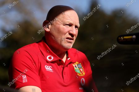 Editorial photo of British & Irish Lions Coaching Team Announcement for 2021 Tour to South Africa - 13 Apr 2021