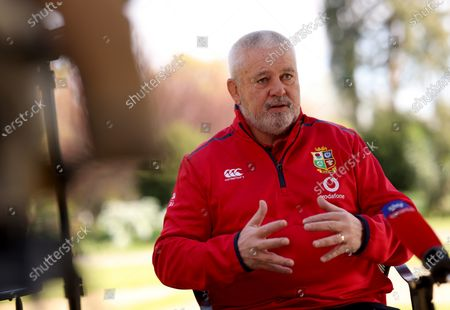 Editorial image of British & Irish Lions Coaching Team Announcement for 2021 Tour to South Africa - 13 Apr 2021
