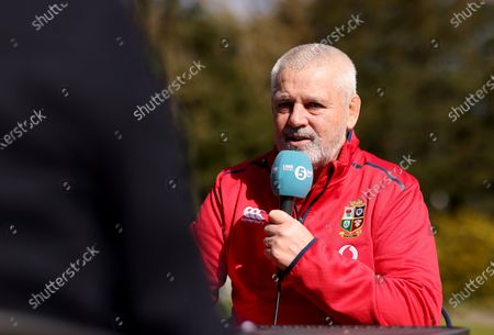 British & Irish Lions Head Coach, Warren Gatland, has today announced the coaching team for the 2021 Tour to South Africa. . Gregor Townsend (Scotland), Robin McBryde (Leinster Rugby), Steve Tandy (Scotland) and Neil Jenkins (Wales) will assist Gatland for the Tour to the home of reigning world champions, the Springboks, as well as the pre-Tour Test match against Japan at BT Murrayfield on Saturday 26th June for the Vodafone Lions 1888 Cup. Pictured is head coach Warren Gatland