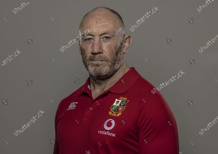 British & Irish Lions Head Coach, Warren Gatland, has today announced the coaching team for the 2021 Tour to South Africa. . Gregor Townsend (Scotland), Robin McBryde (Leinster Rugby), Steve Tandy (Scotland) and Neil Jenkins (Wales) will assist Gatland for the Tour to the home of reigning world champions, the Springboks, as well as the pre-Tour Test match against Japan at BT Murrayfield on Saturday 26th June for the Vodafone Lions 1888 Cup. Pictured is forwards coach Robin McBryde