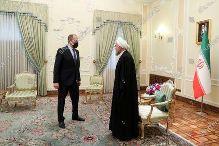 Editorial image of Russia, Tehran, Iran - 13 Apr 2021