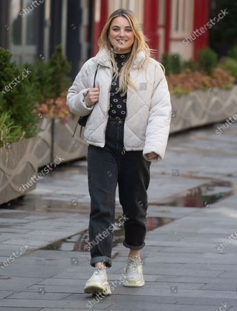 Sian Welby out and about.