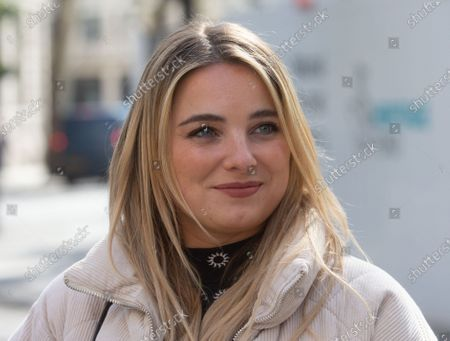 Stock Image of Sian Welby out and about.