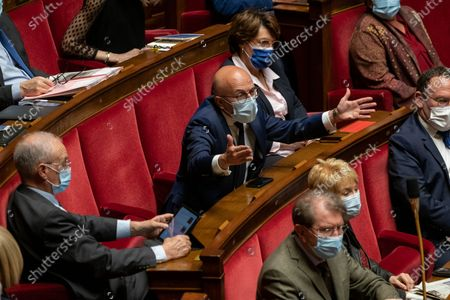 Editorial image of Weekly session of questions to the government, Paris, France - 13 Apr 2021