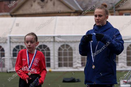 Editorial image of Girls Football Festival, EFL Day of Action, Football, Portman Road, Ipswich, UK - 14 Apr 2021