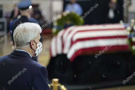 Editorial picture of Slain US Capitol Police officer William Evans is honored at the US Capitol, Washington, USA - 13 Apr 2021
