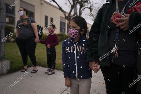 Editorial photo of Virus Outbreak-California Schools, Maywood, United States - 13 Apr 2021