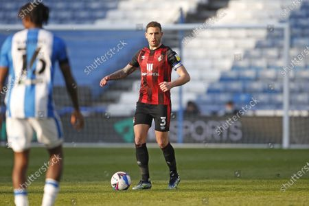 Portrait of Steve Cook of Bournemouth  during the EFL Sky Bet Championship match between Huddersfield Town and Bournemouth at the John Smiths Stadium, Huddersfield