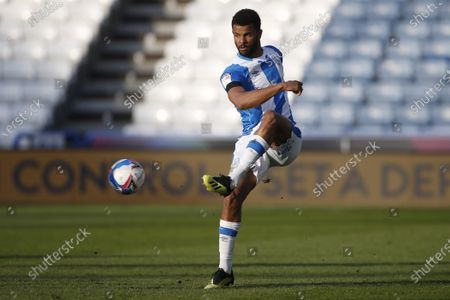 Portrait of Huddersfield Town's Fraizer Campbell during the EFL Sky Bet Championship match between Huddersfield Town and Bournemouth at the John Smiths Stadium, Huddersfield