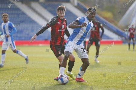 Editorial photo of Huddersfield Town v Bournemouth, EFL Sky Bet Championship, 13042021 - 13 Apr 2021