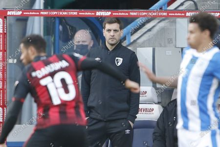 Jonathan Woodgate Interim Manager of Bournemouth during the EFL Sky Bet Championship match between Huddersfield Town and Bournemouth at the John Smiths Stadium, Huddersfield
