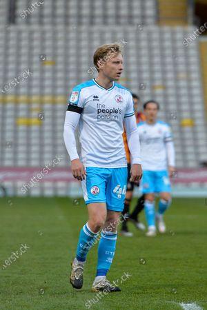 Josh Wright  during the EFL Sky Bet League 2 match between Bradford City and Crawley Town at the Utilita Energy Stadium, Bradford