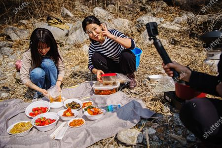 Editorial picture of North Korean Youtubers, Inje, Gangwon Province, South Korea - 09 Mar 2020